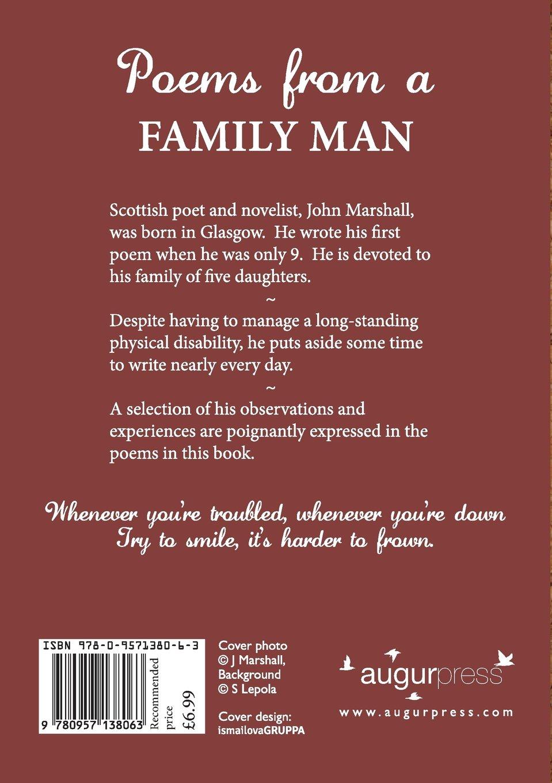 Poems from a Family Man: John Marshall: 9780957138063: Amazon.com: Books