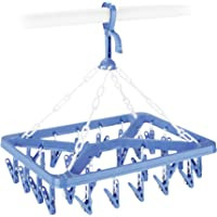 Whitmor 6171-844 Clip and Drip Hanger with 26 Clips