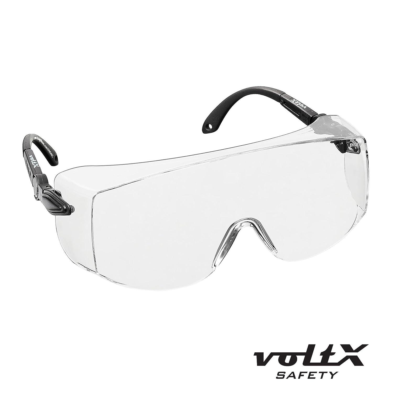 voltx 39 overspecs 39 gewerbliche schutzbrille f r brillentr ger im ebay. Black Bedroom Furniture Sets. Home Design Ideas