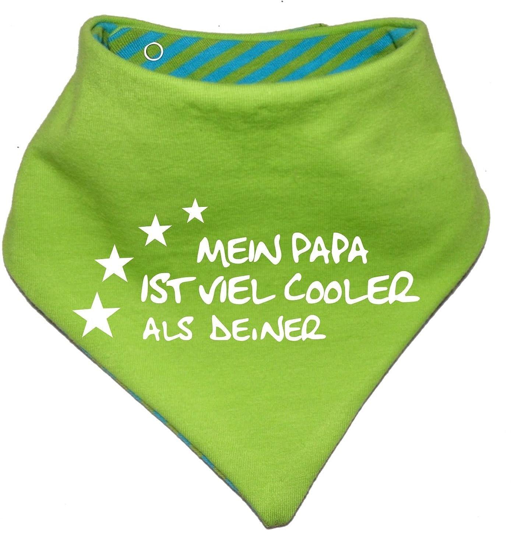 evolutif Baby–y niños–Bufanda reversible, mi Papa es Cooler/EN 7Tamaños Designs/0–36meses