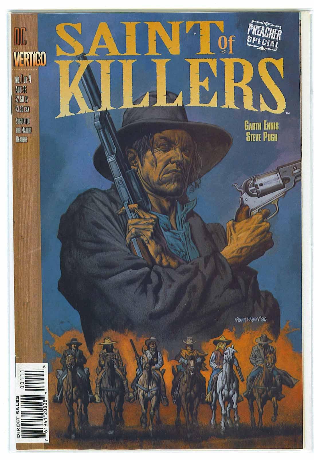 Download Saint Of Killers Preacher Special # 1, 7.0 FN/VF pdf epub