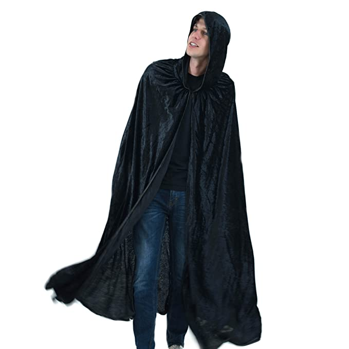 Amazon.com  Everfan Black Hooded Cape  af4a8fe3a