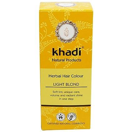 Khadi Tinta Vegetale in Polvere - Biondo Chiaro  Amazon.it  Bellezza eaccd965aee8