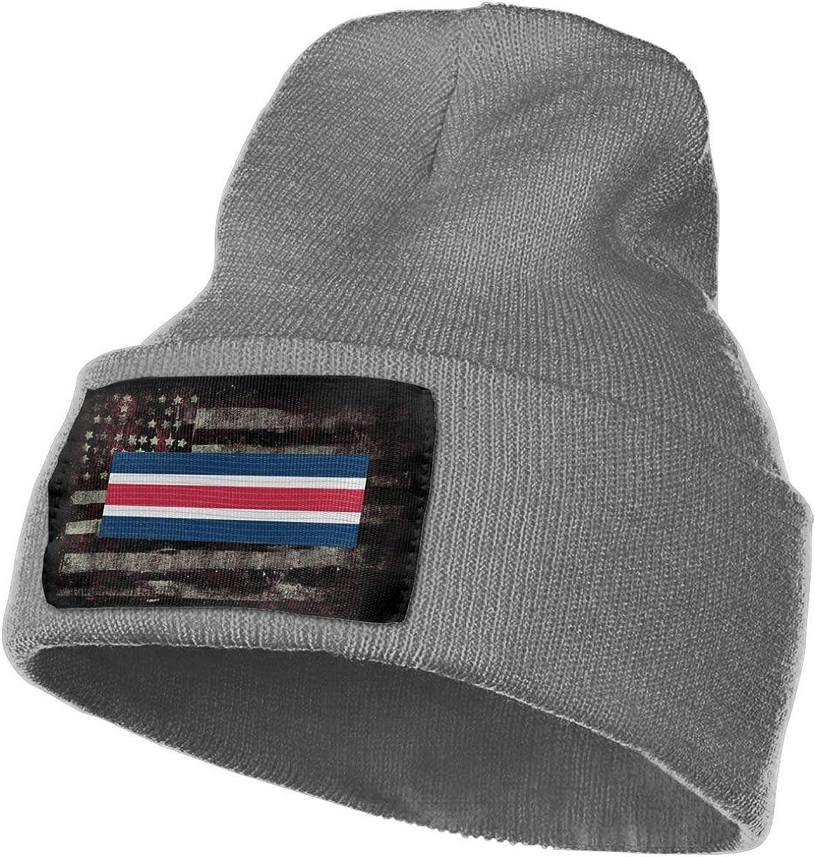 FORDSAN CP US Army Reserve Component Overseas Training Ribbon Mens Beanie Cap Skull Cap Winter Warm Knitting Hats.