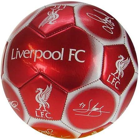 Liverpool F.C colore: Rosso - Pallone da calcio unisex misura 5 ...