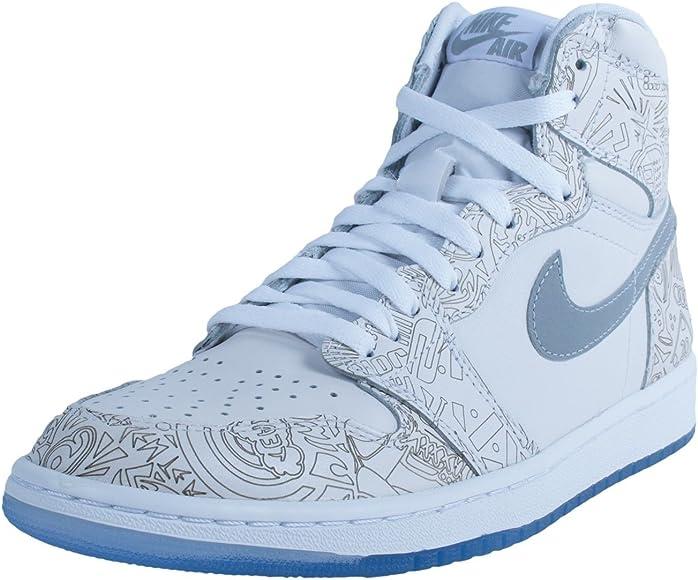 Jordan Men's Nike Air 1 Retro Hi OG Laser Basketball Shoes
