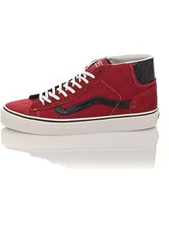 Vans MID SKOOL 77 - Zapatillas de skateboarding de Piel para mujer ... 9518f6e86d4