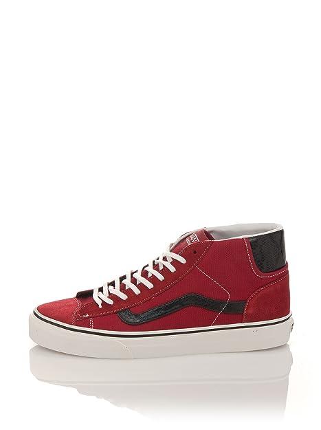 Vans U Mid Skool 77, Botines Unisex-Adulto, Rojo, 37 EU: Amazon.es: Zapatos y complementos