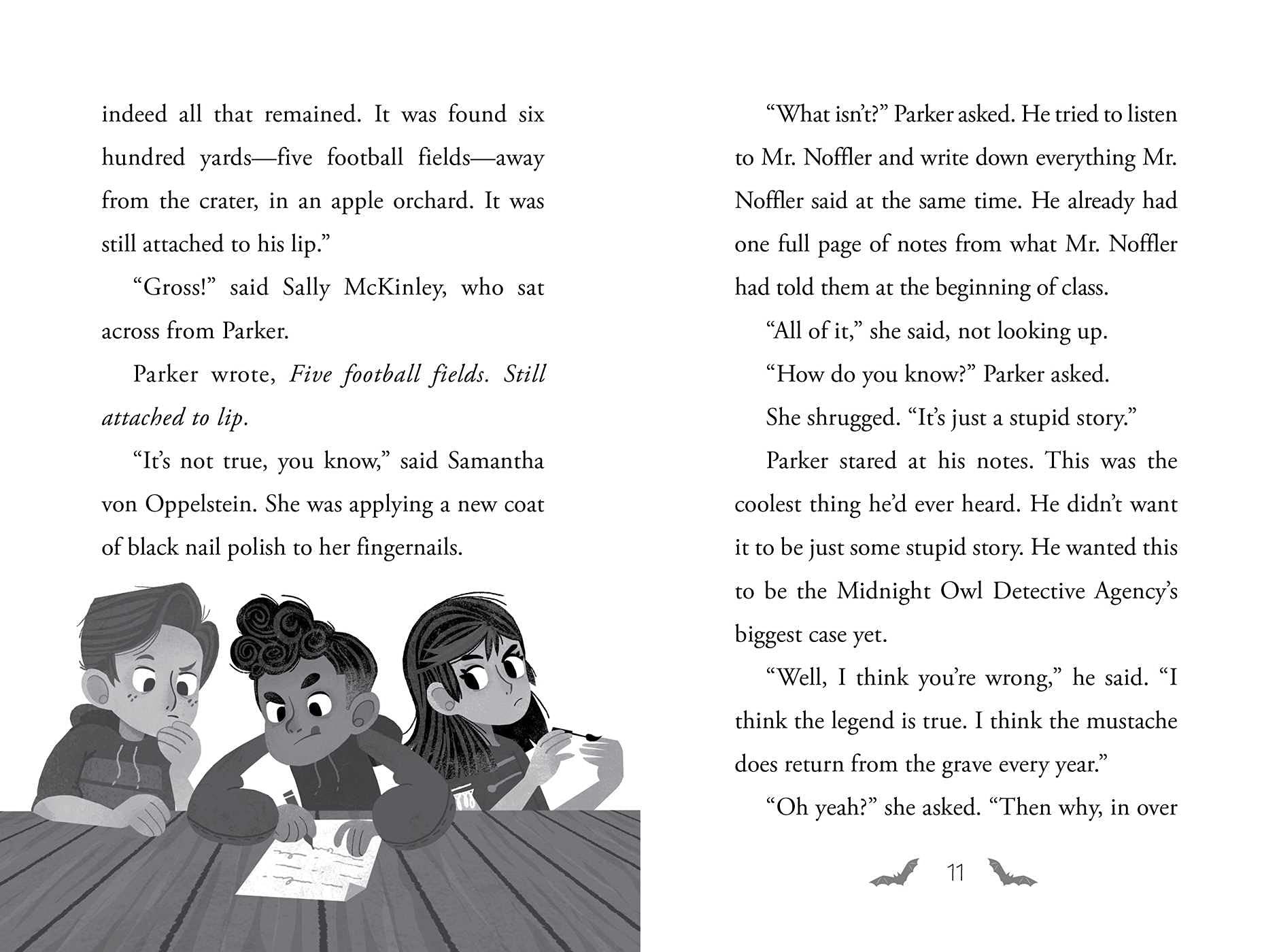 Amazon.com: The Haunted Mustache (1) (Night Frights): 9781534480889: McGee,  Joe, Skaffa, Teo: Books