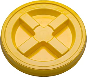 Gamma Seal Lid (3) Quanity (yellow)