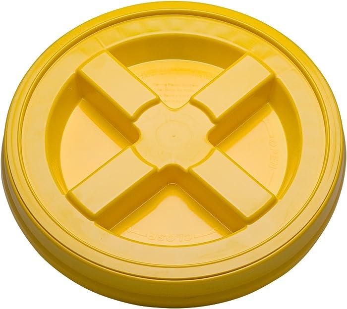 Gamma Seal Lid (3) Quanity (yellow)