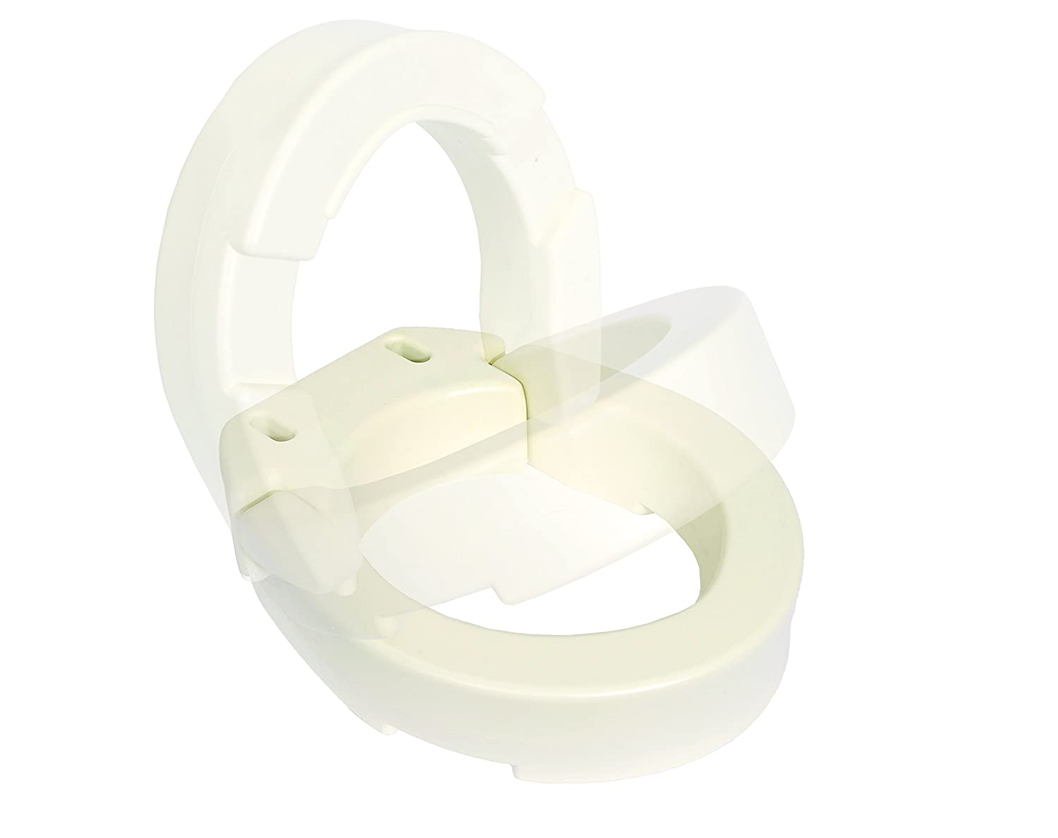 Astonishing Essential Medical Supply Hinged Toilet Seat Riser For Standard Toilets Pdpeps Interior Chair Design Pdpepsorg