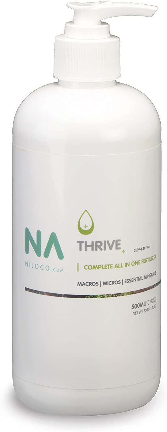 EXTREMELY EASY TO USE LIQUID FERTILIZER | Thrive+ All In One Liquid Fertilizer |NILOCG AQUATICS | Highly Concentrated Aquarium Plant Fertilizer for Demanding Planted Tanks