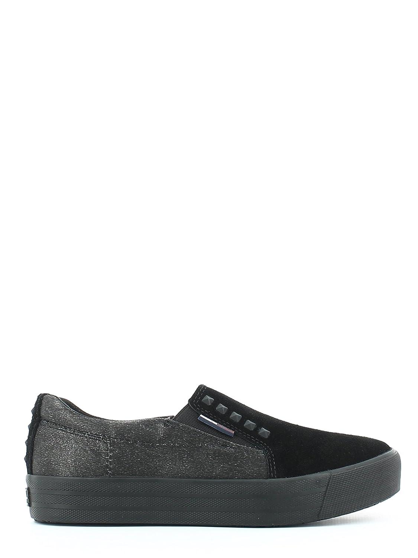 Tommy Hilfiger - Zapatos de cordones para mujer 41 EU|negro