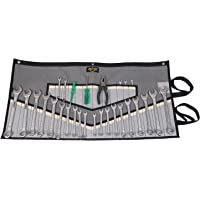 32 Pocket Polyester Wrench & Tool Roll Organizer