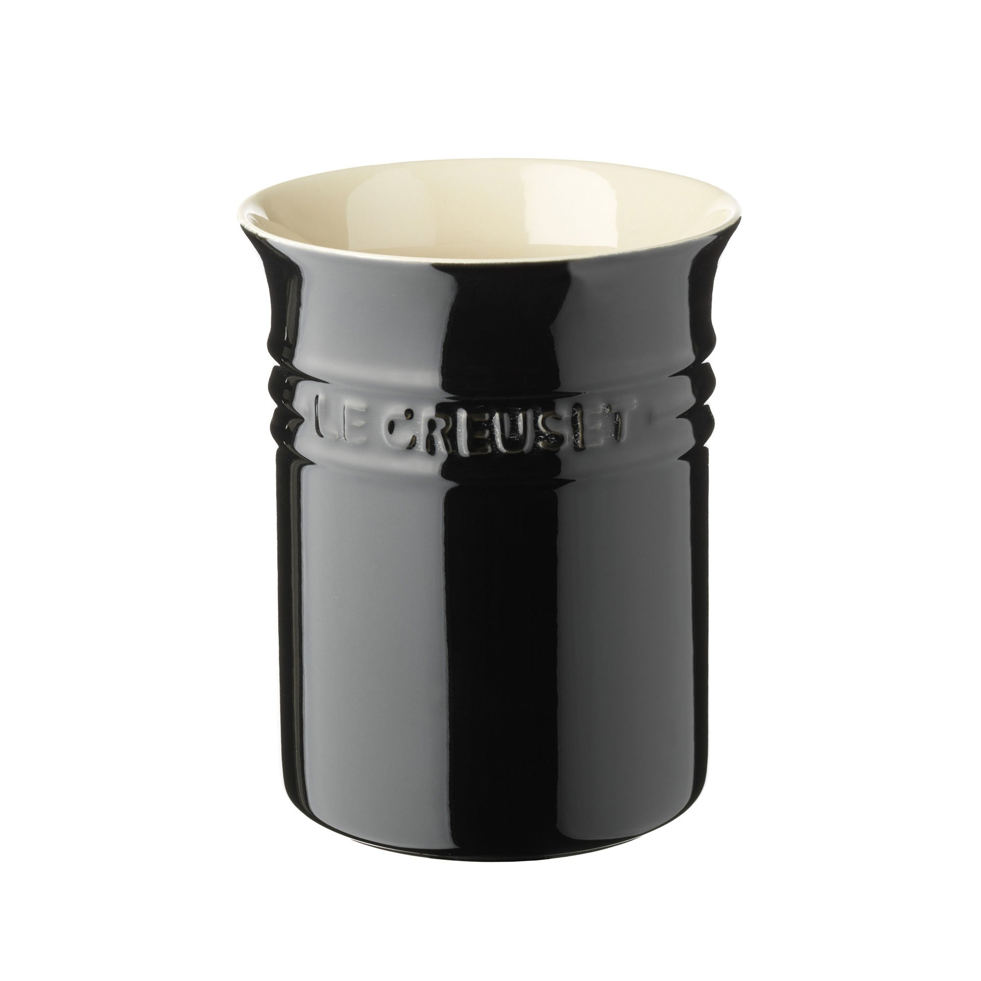 Le Creuset Stoneware 1-Quart Crock, Black by Unknown (Image #1)