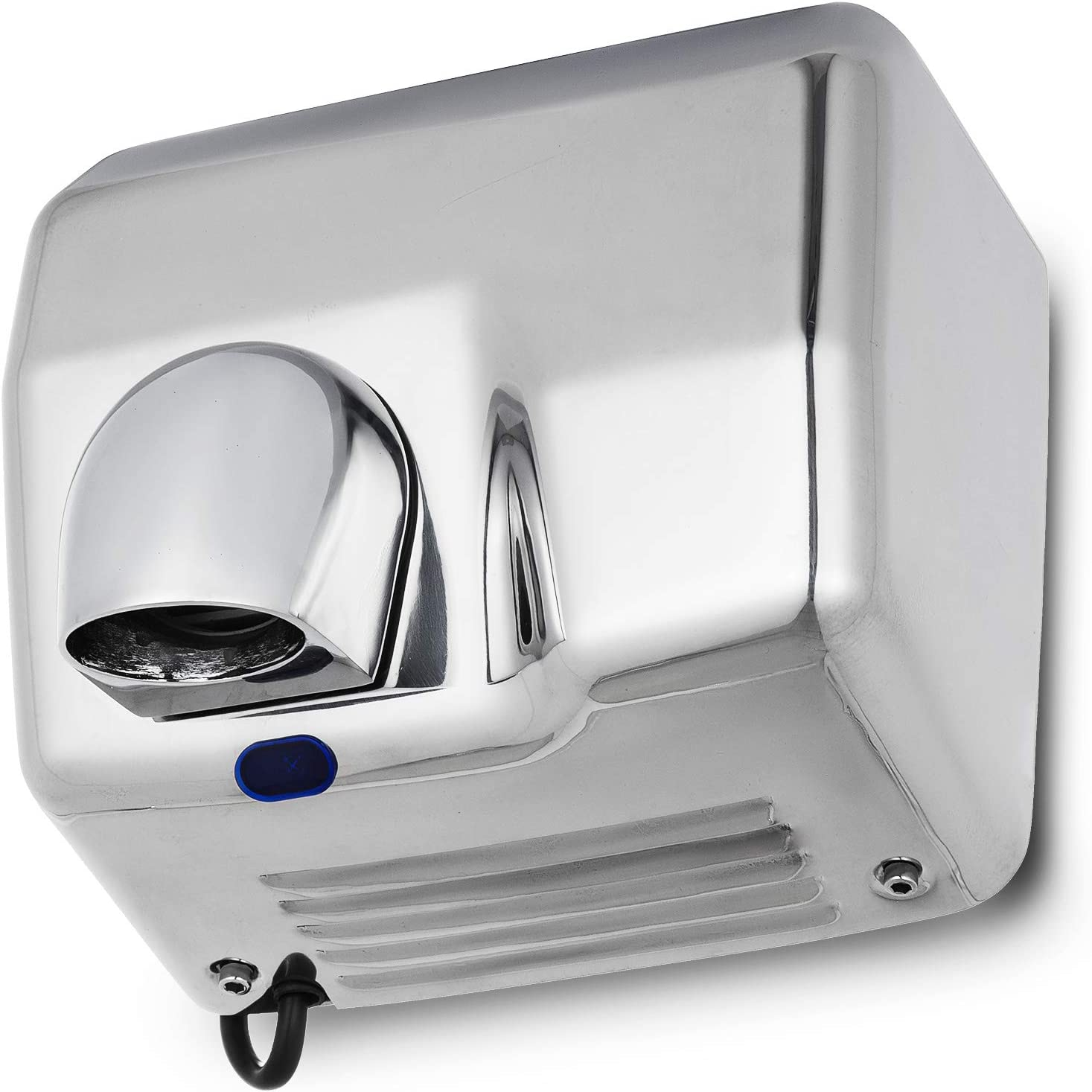 Cueffer Secador de Manos Secador de Manos Electrico Secador de Manos Automatico de Acero Inoxidable Secadora de Manos Comercial Secador de Aire Fuerza Hand Dryers 2500W