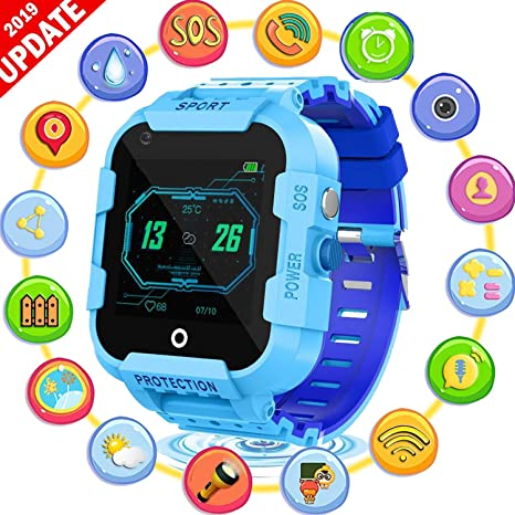 AARRM GPS Reloj teléfono, SmartWatch Infantil, para niños ...