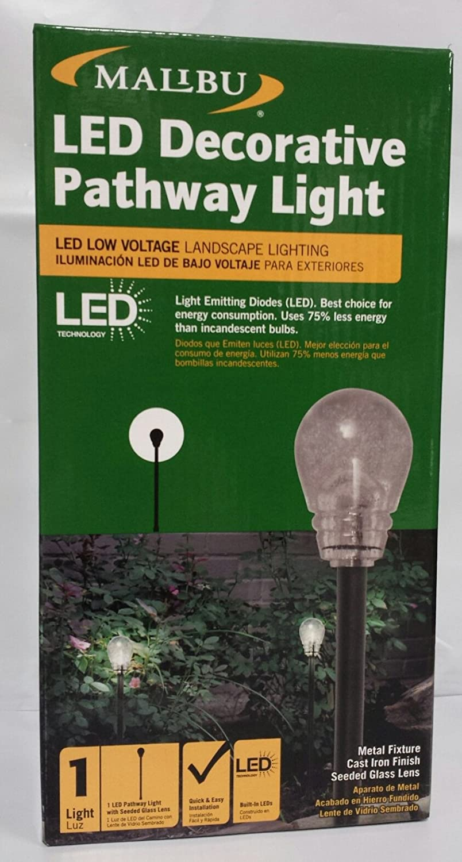 Amazon.com : Malibu Low Voltage LED Decorative Pathway Landscaping Light : Landscape Path Lights : Garden & Outdoor