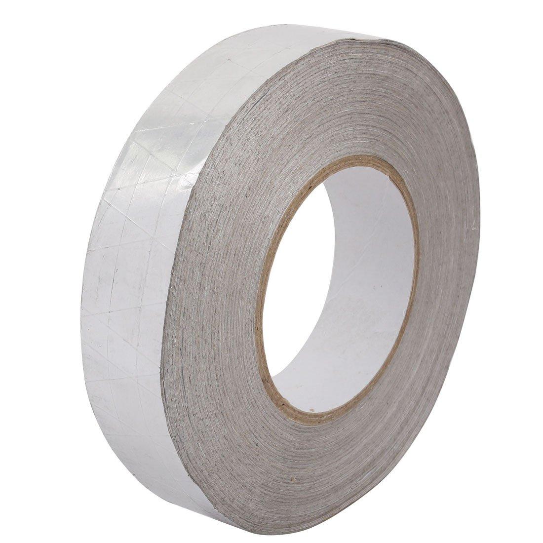 uxcell Aluminum Foil-Scrim-Kraft Insulation Jacketing Tape 50 Meter Length x 30mm Width