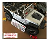 RC 1/10 Scale Warning Decal Stickers Axial