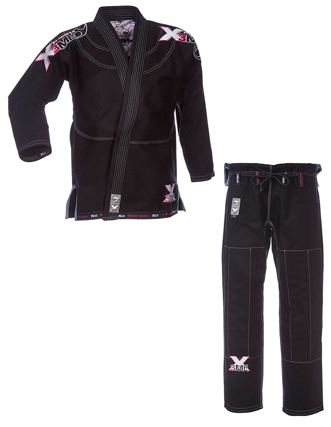 Ju-Sports Amazona BJJ-Gi EXTREME 2.0 black/pink (F4 (180))