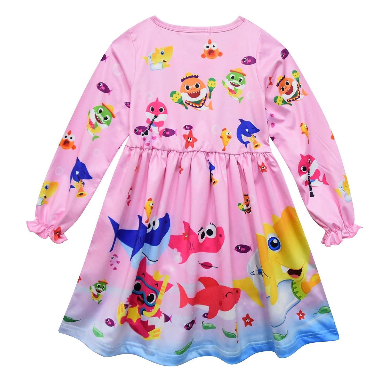 Crazy Gotend Toddle Girls Nightgown Sleepwear Nightie Casual Dress