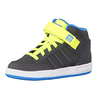 Adidas IBaskets Pour Garçon Varial Mid Gris rdCQWEoexB