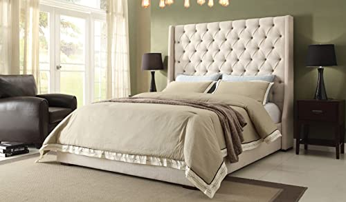 Diamond Sofa Park Avenue Eastern King Tufted Bed
