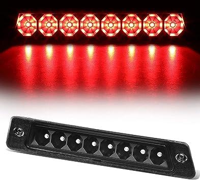 Fit 09-13 Corolla Red LED Red Lens 3rd Brake Light OE Style Rear Trunk Spoiler