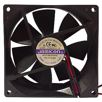 Ventilador de refrigeración JAMICON de 12 V CC para HTLS, 92x92 x ...