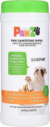 Protex-PawZ-SaniPaw-Dog-Paw-Wipes-(60-Wipes)