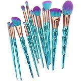 AiceBeu 12Pcs Makeup Brush Set Foundation Eyeshadow Blush Concealer