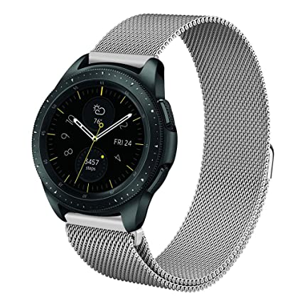 Fintie Correa para Samsung Galaxy Watch Active2/Galaxy Watch Active/Galaxy Watch 42mm/Gear Sport/Gear S2 Classic - 20mm Pulsera de Repuesto de Acero ...