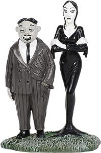 """Department56 Addams Family Village Accessories Gomez and Morticia Figurine, 2.76"""", Multicolor"""