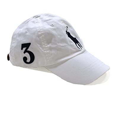ec16b6a0fa571 Polo Ralph Lauren Mens Big Pony Hat (Oz