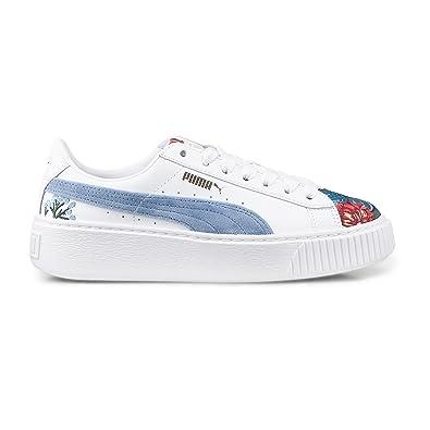 Puma Platform Hyper Emb Damen Sneaker Gr. 39 Freizeit Schuhe Leder NEU