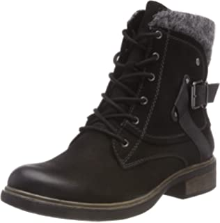 Tamaris Women's 25123 21 Combat Boots: Amazon.co.uk: Shoes