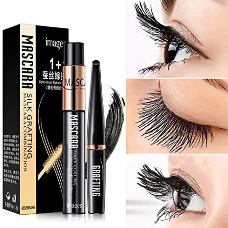 Amazon.com : Yeaphy 4D Mascara Eyelashes Long Extension Waterproof Cosmetic Silk Fiber Lash Mascara Black : Beauty