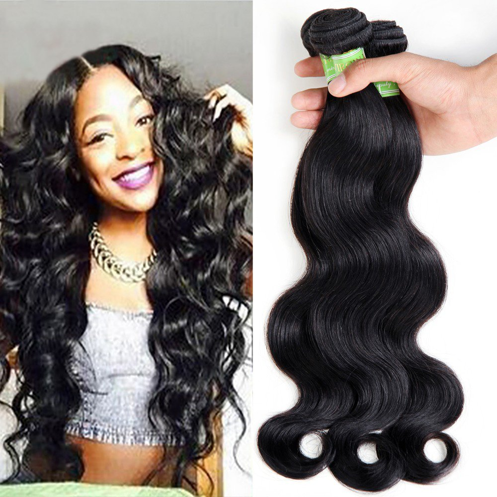 Amazon Golden Rule Brazilian Virgin Human Hair Extensions Body