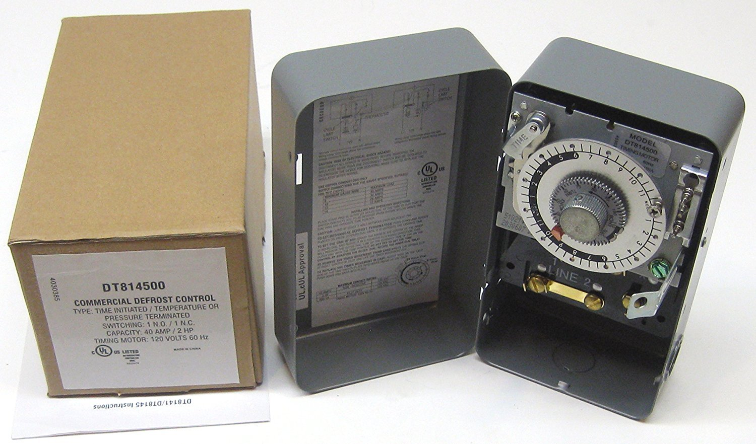 Supco S8145-00 Complete Commercial Defrost Timer (Replaces Paragon 8145-00)