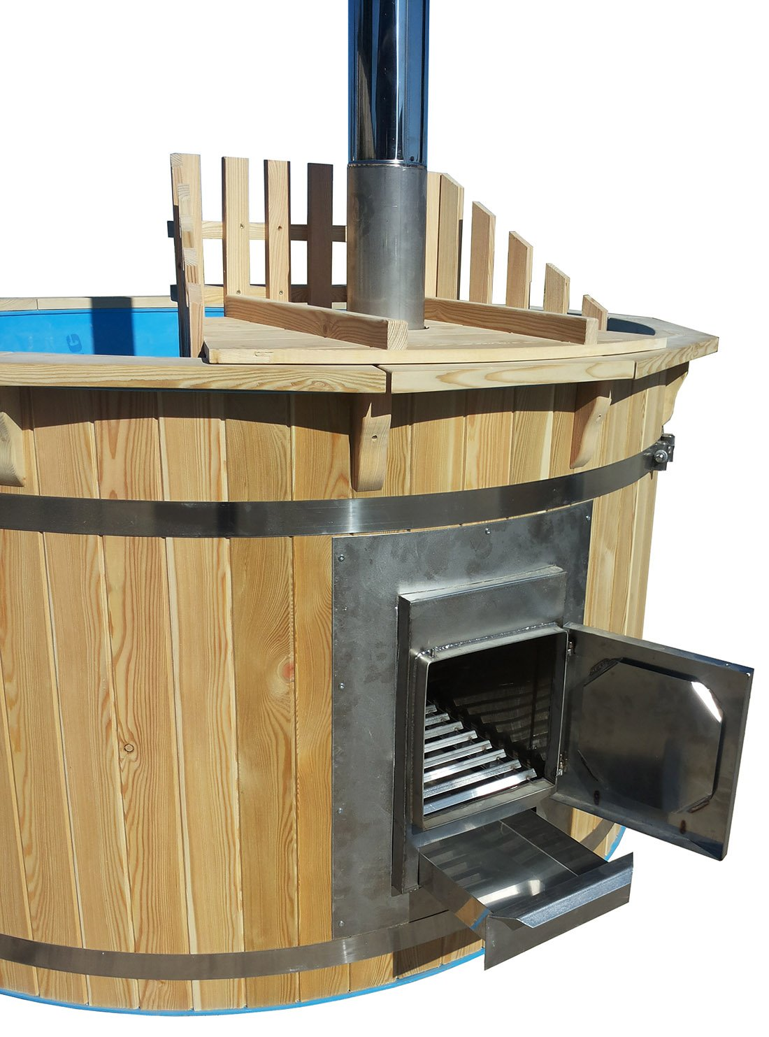 Hot tub with oven, 180 cm Sell-tex GmbH