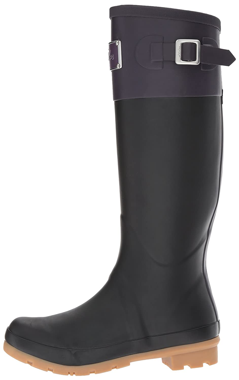Joules Women's Cavendish Rain Boot B06XG7THPG 10 B(M) US|Deep Purple