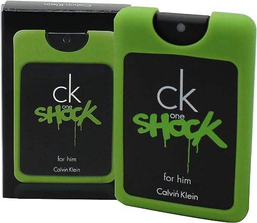 C.K. ONE SHOCK HIM on the go Eau De Toilette vapo 20 ml: Amazon.es: Belleza