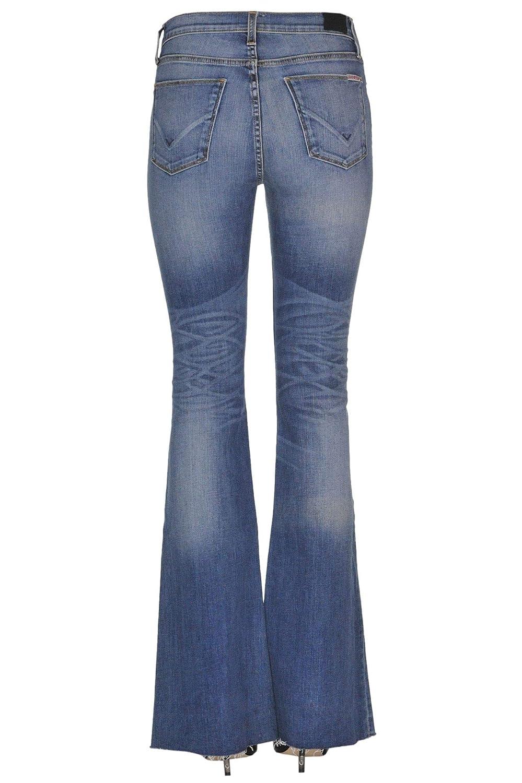 HUDSON Womens MCGLDNM000005054E Blue Cotton Jeans