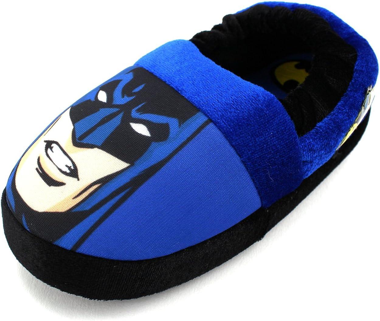 Toddler//Little Kid Batman Superhero Boys Aline Slippers