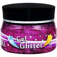 Gel Glitter Pote 150G Pink, Colormake