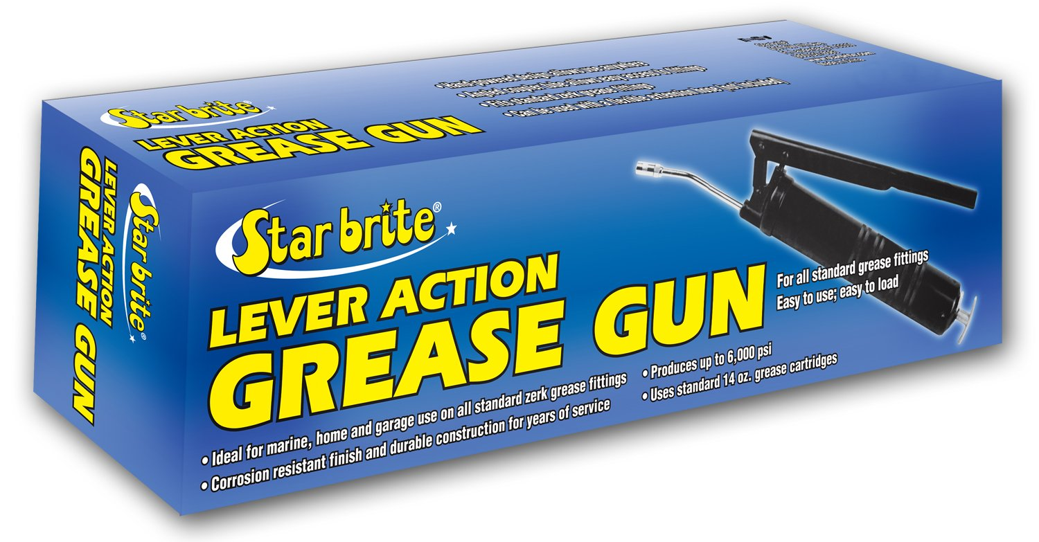 Star Brite Standard Duty Lever Grease Gun for Cartridge (14-Ounce)