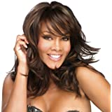 Full Head Wigs Natural Curly Wavy Hair Fluffy-Glamorous Women Natural Curly Wavy Hair with Free Wig Cap and Wig Comb