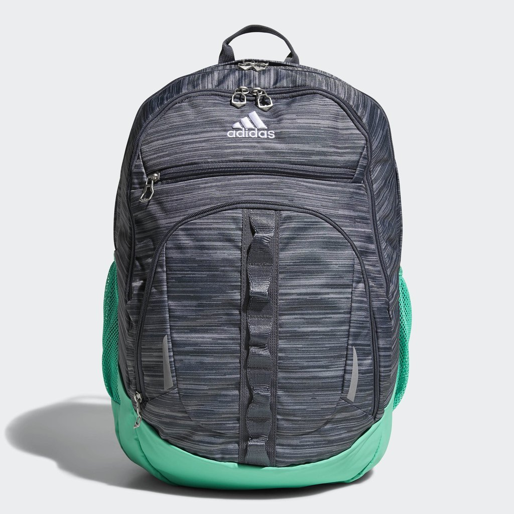 adidas Prime Iv Backpack, Onix Looper/Onix/Hi-Res Green, One Size